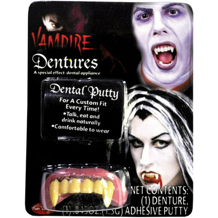Big Bubba Vampire Teeth Halloween Accessory - Halloween Vampire Teeth Instructions