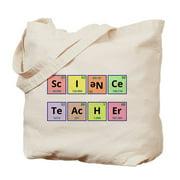 CafePress - Science Teacher - Natural Canvas Tote Bag, Cloth Shopping Bag