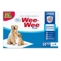 Four Paws Wee-Wee Pads, 150 Count Bulk Pack Box