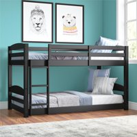 Better Homes and Gardens Tristan Twin Floor Bunk Bed, Multiple Colors