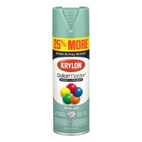 Krylon ColorMaster Paint + Primer Satin Jade Green, 15-Oz
