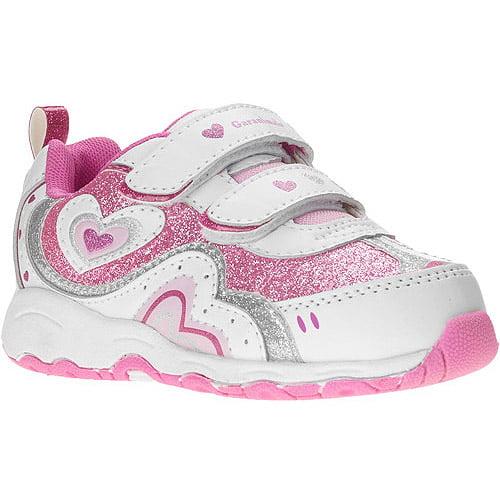 Garanimals Baby Girls' Velcro Heart Gigi Sneaker