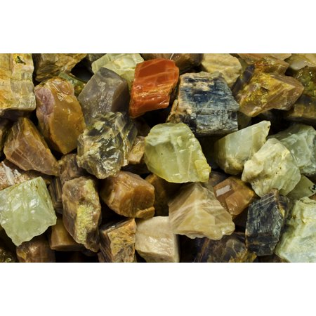 Fantasia Crystal Vault: 1/2 lb Moonstone Rough Stones from Asia - Large 1
