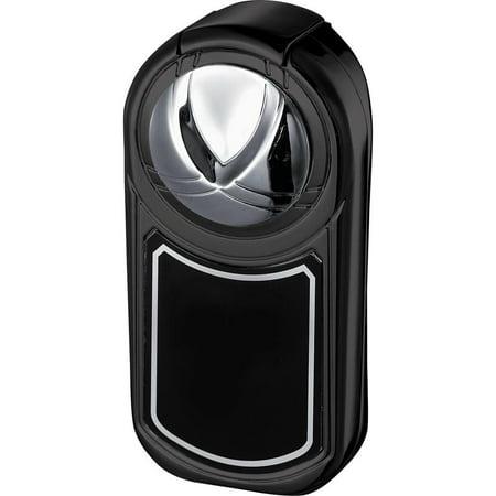 Visol Dobrev III Triple Jet Flame Black Matte Cigar Lighter