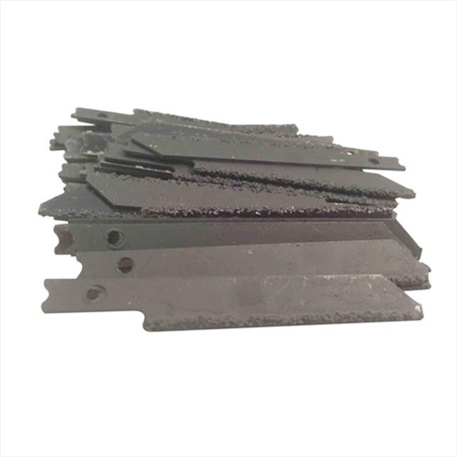 Disston GJ6-50 Remgrit 2. 875 inch Coarse Grit Carbide Grit Jig Saw Blade With Universal Shank, 50 Pack