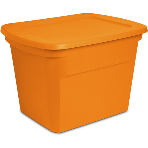 Sterilite 18-Gallon (72-Quart) Storage Box, Set of 6