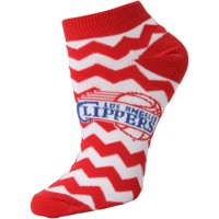 LA Clippers Women's Chevron Stripes Ankle Socks