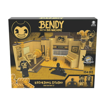 Bendy and the Ink Machine - Collector Construction - The Recording Studio Scene Set