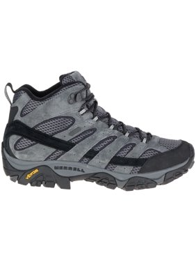 Merrell Men's Moab 2 Mid Waterproof Hiking Boots (Granite, 7.0)
