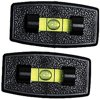 Prime Products 28-0114 Black Rectangular Stick-On Level 2 Pack