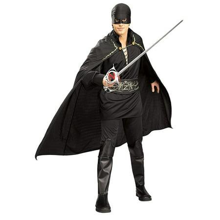 Zorro Adult Halloween Costume - Deluxe Zorro Costume