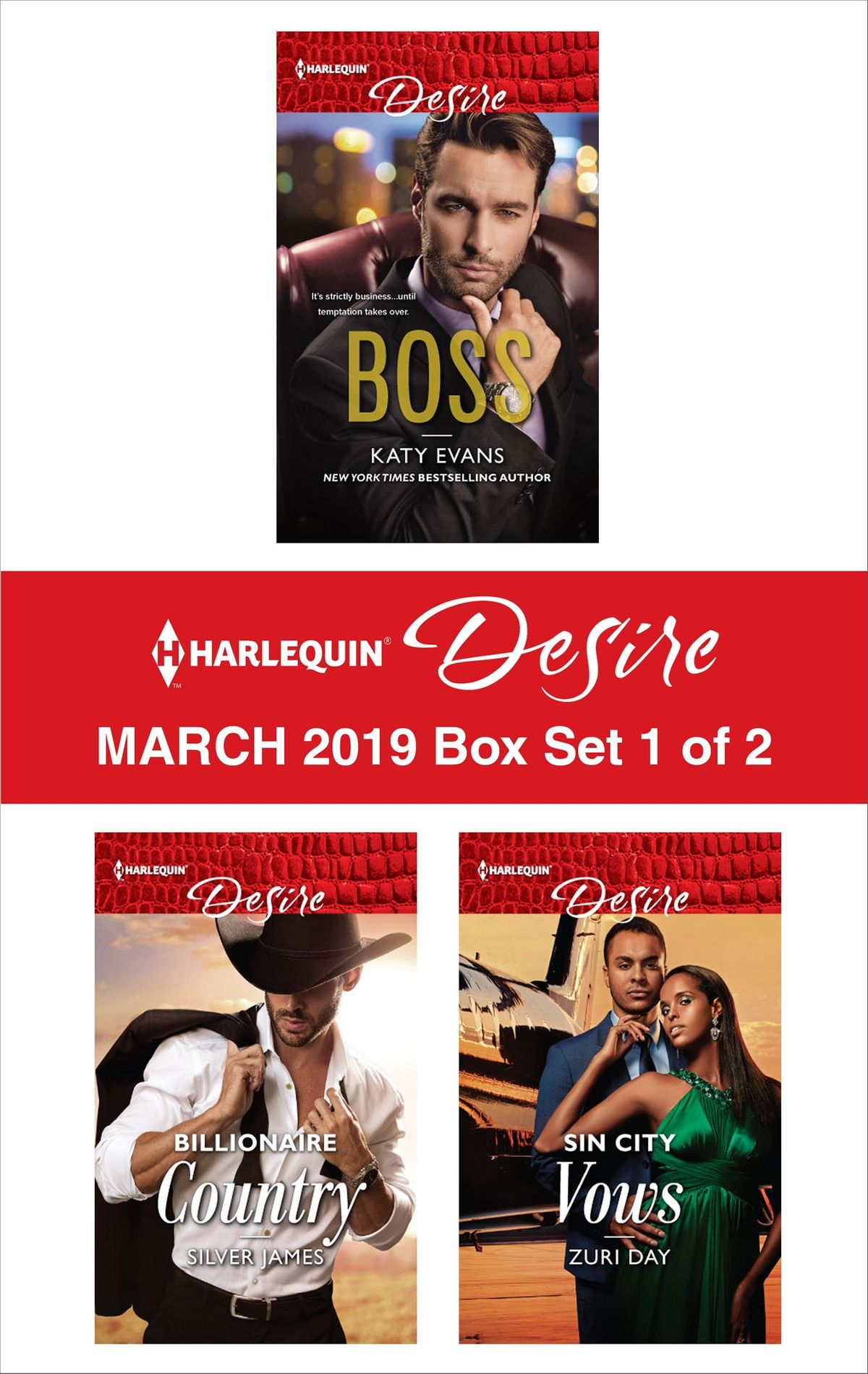 Harlequin Desire March 2019 - Box Set 1 of 2 - eBook ...