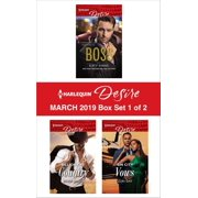 Harlequin Desire March 2019 - Box Set 1 of 2 - eBook