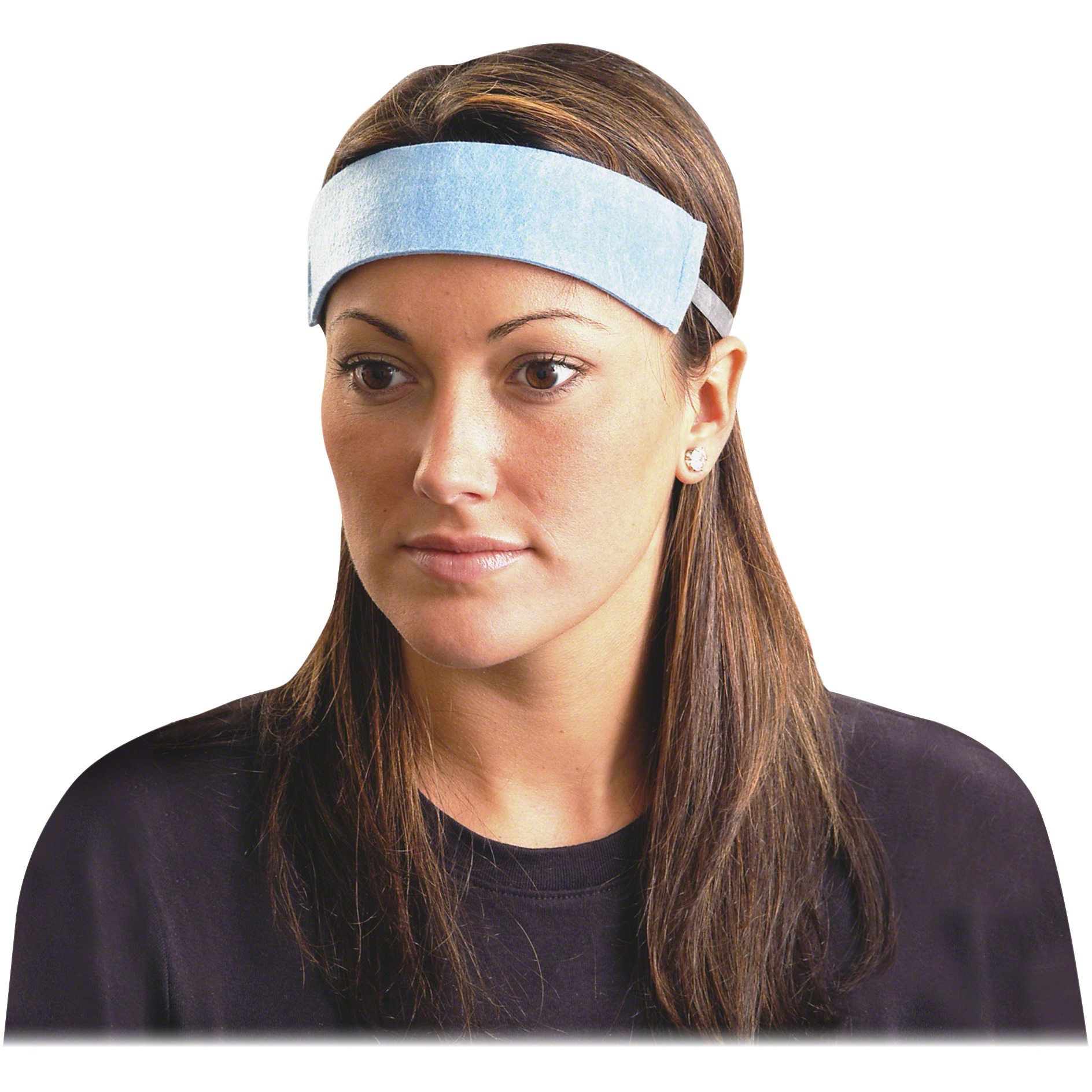 OccuNomix, OCCSB100, Hard Hat Sweatband, 100 / Pack, Blue