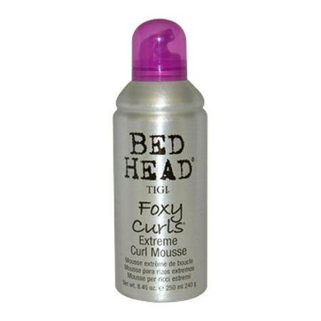 Loreal Textureline Curl Memory - TIGI Bed Head Foxy Curls Extreme Curl Mousse 8.45 oz Mousse for Unisex