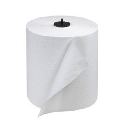SCA 290089 7.75 in. x 700 ft. 1-Ply Tork Advanced Matic Hand Towel Roll, White - Case of 6