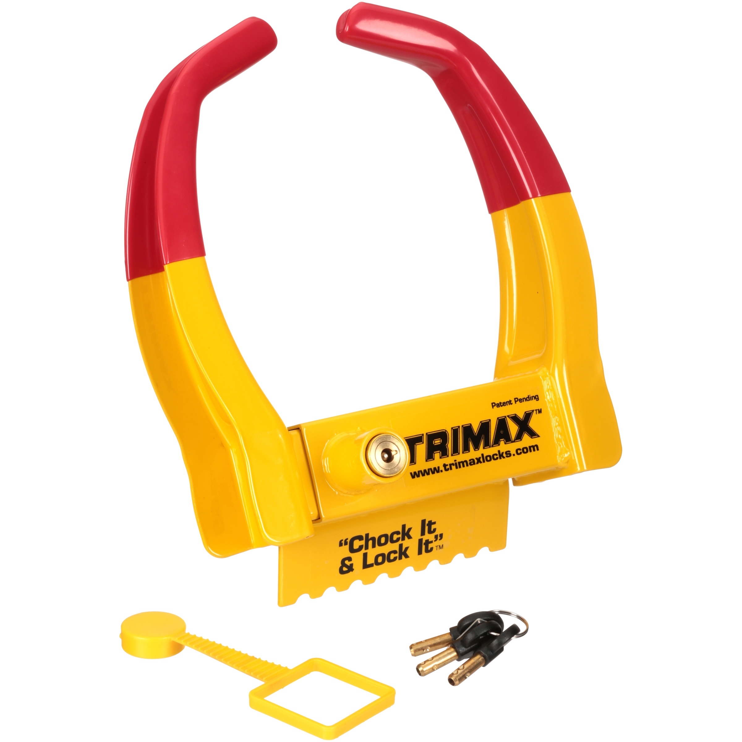 Trimax™ Deluxe Universal Wheel Chock Lock