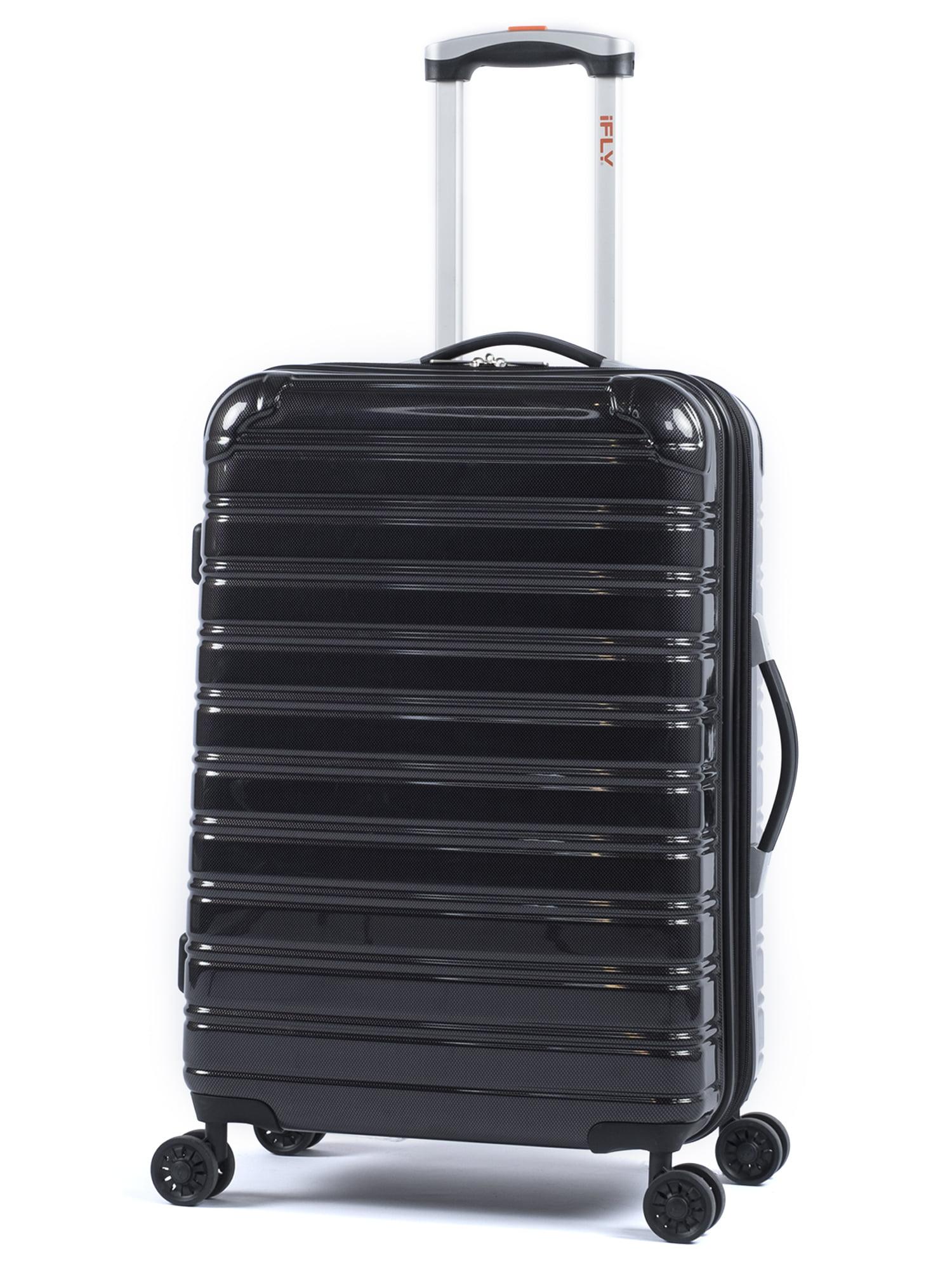 "iFLY Hardside Fibertech Luggage 24"" Checked Luggage"