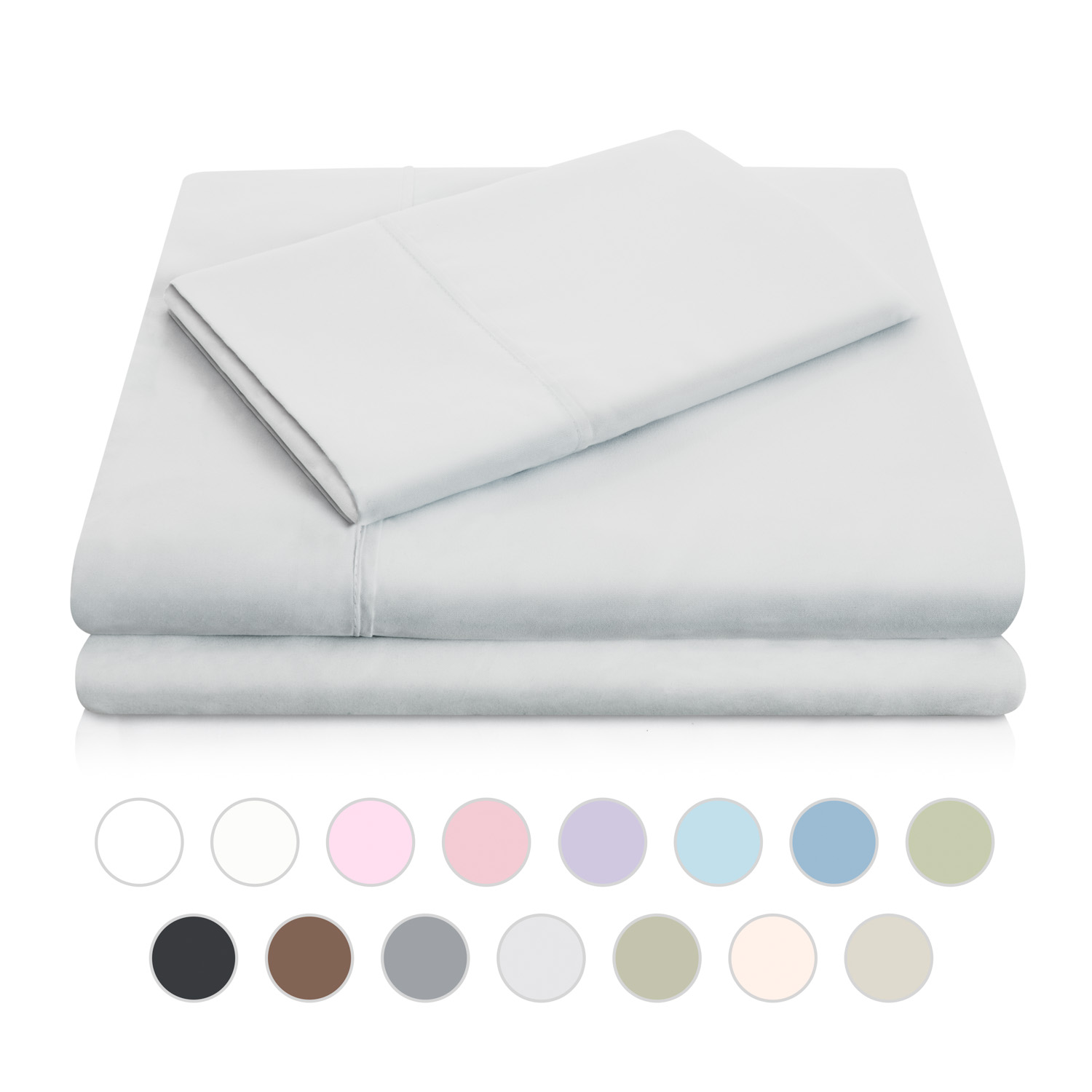 Woven Double Brushed Microfiber Sheet Set   Walmart.com