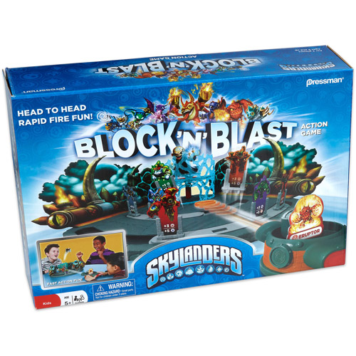 Pressman Toy Skylanders Block 'N' Blast Game