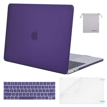 new product 295c7 28ee9 Mosiso 4 in1 MacBook Pro 13 Case A1989/ A1706/A1708 2016 2017 2018,Plastic  Hard Shell Case for Newest Macbook Pro 13 Inch with/without Touch Bar and  ...