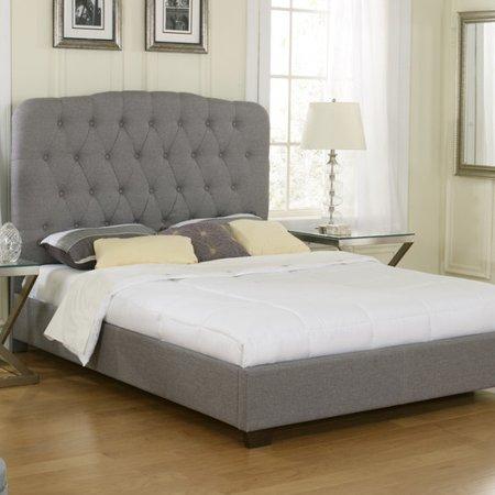Luxury home aubree upholstered platform bed - Luxury platform beds ...