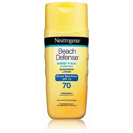 Neutrogena Beach Defense Sunscreen Body Lotion Broad Spectrum Spf 70  6 7 Ounce