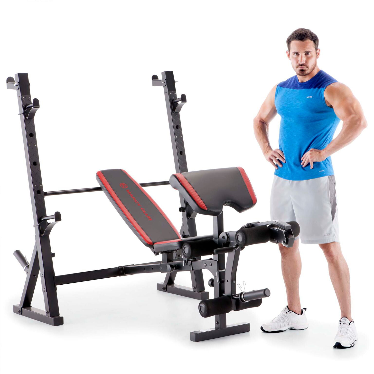Marcy home gym workout fitness exercise deluxe olympic weight