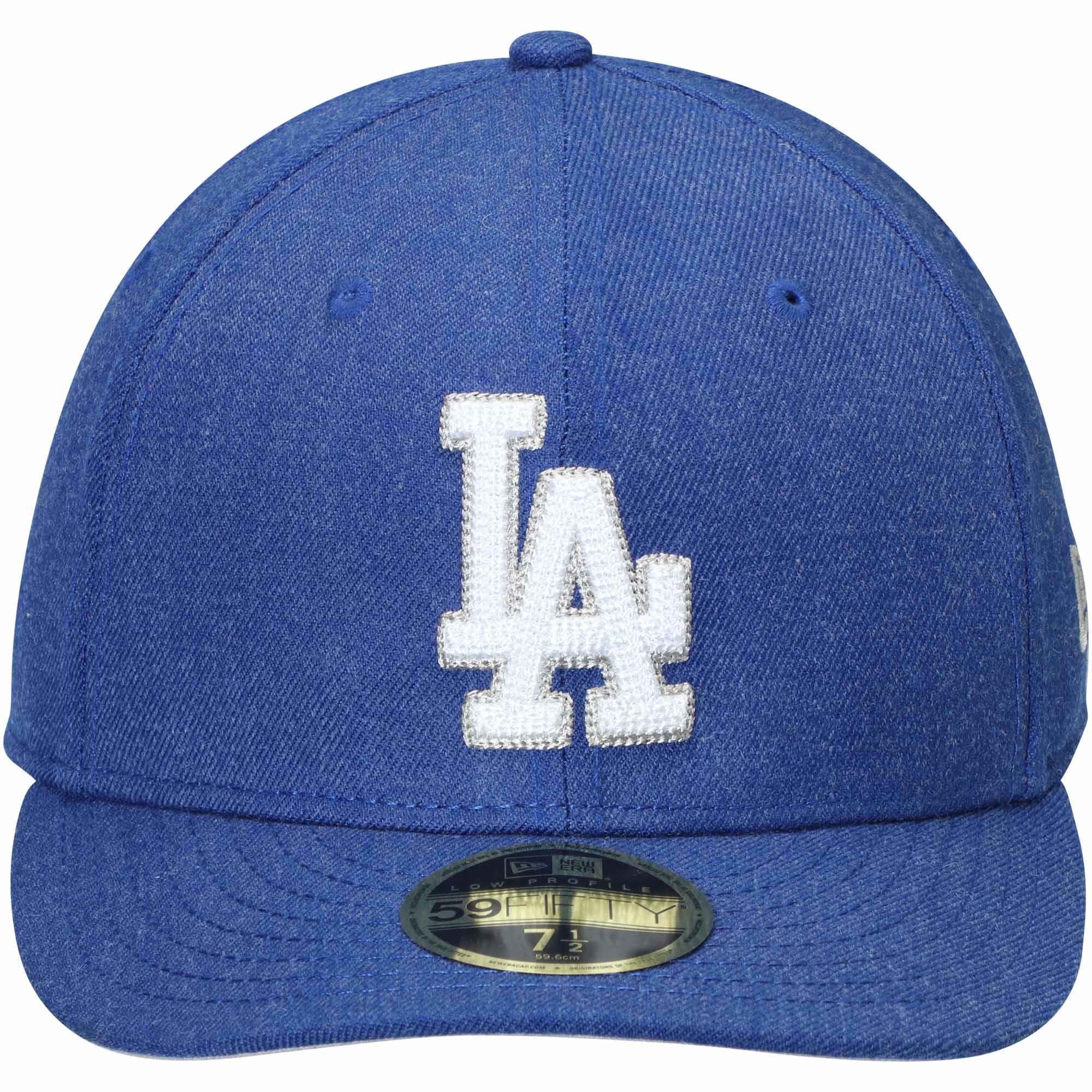 quality design 2d894 d000e ... store los angeles dodgers new era crisp low profile 59fifty fitted hat  heathered royal walmart 7d3e9
