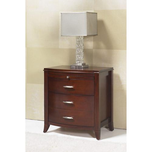 Modus Furniture International Brighton 2-Drawer Nightstand, Cinnamon