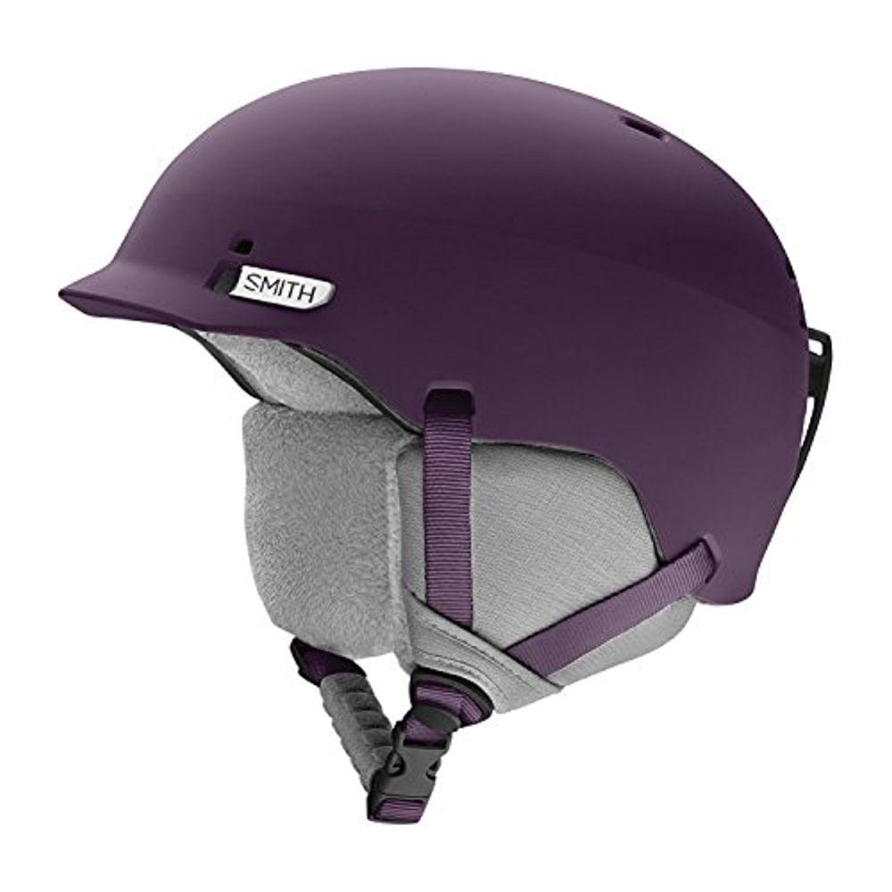 Smith Optics Gage Adult Ski Snowmobile Helmet Matte Black Cherry   Large by