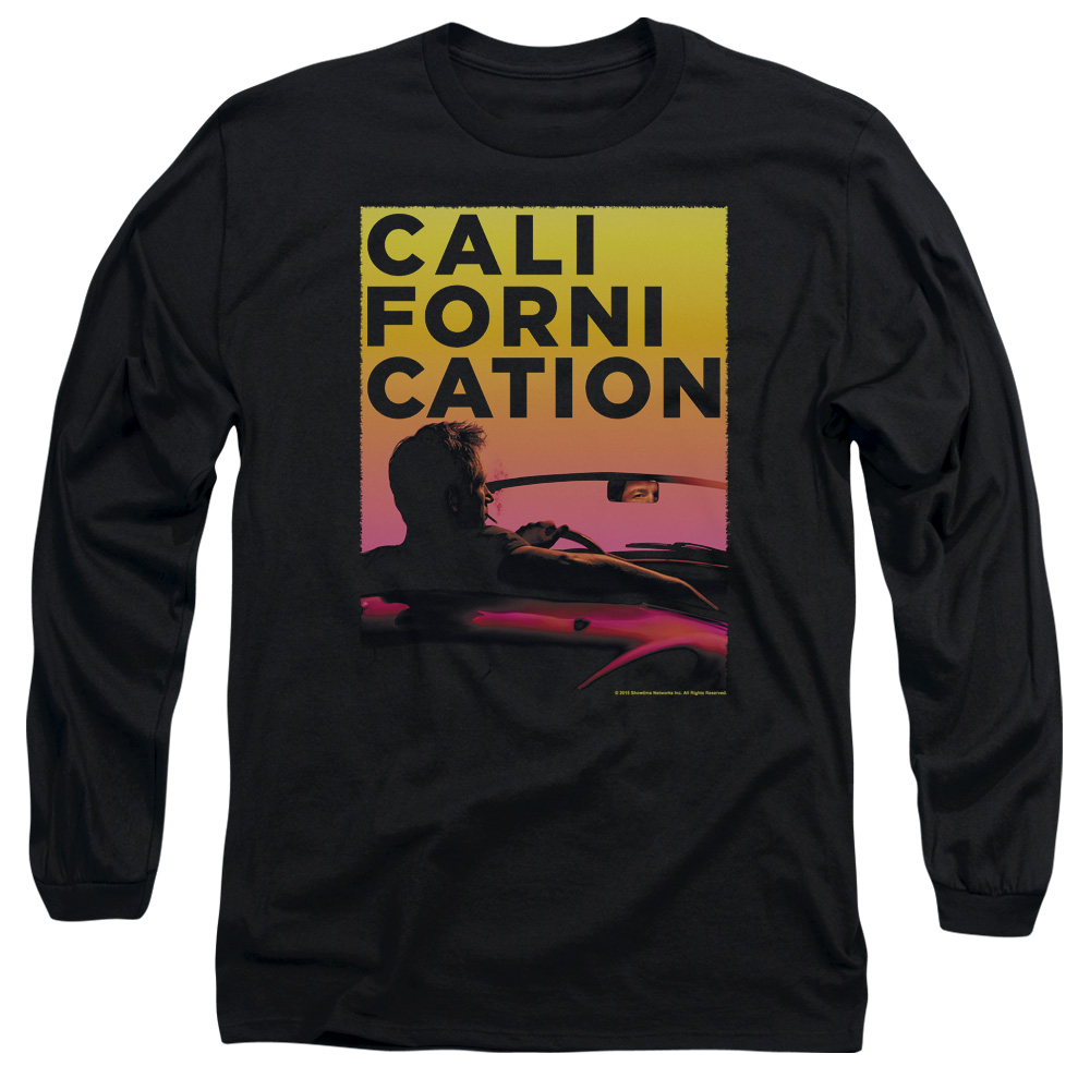 Californication Sunset Ride Mens Long Sleeve Shirt