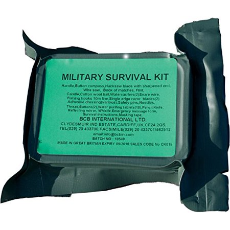 BCB Adventure Military Survival Kit Multi-Colored