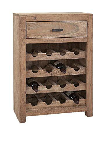 Alluring Cade Wine Storage Cabinet by Benzara Inc.