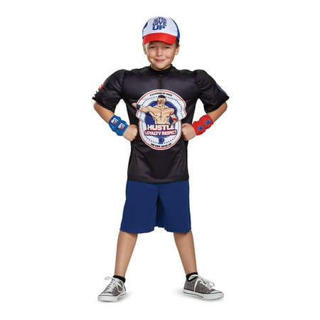 WWE John Cena Classic Muscle Child Costume - John Darling Costume