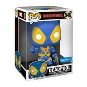 "Funko POP! Marvel: Deadpool - 10"" Deadpool Thumbs Up (Blue & Yellow) - Walmart Exclusive"