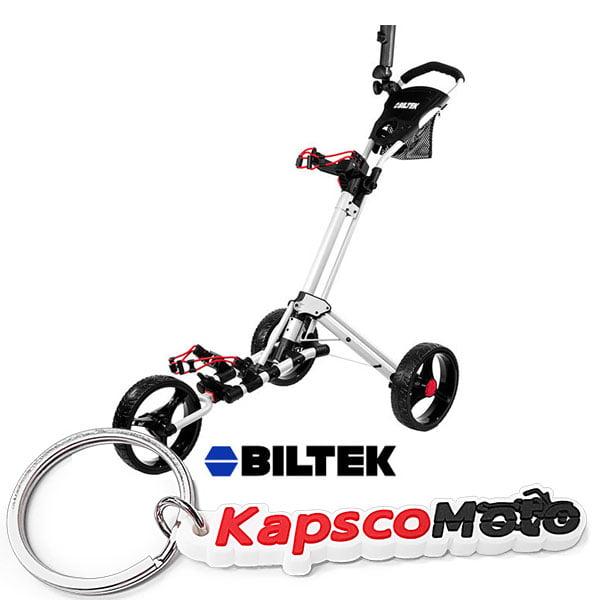Biltek Biltek Premium 3-Wheel Golf Push Cart Trolley Whit...