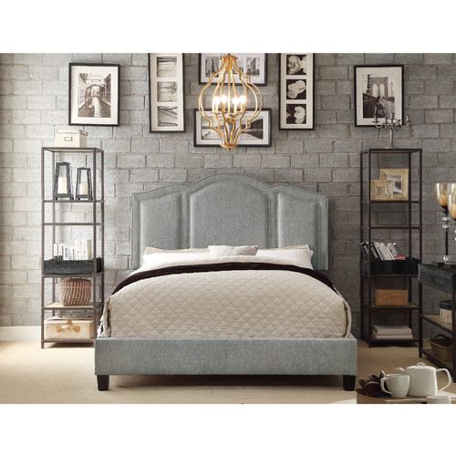 Mulhouse Furniture Belita Queen Upholstered Panel Bed