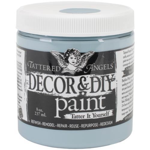 Decor & Diy Paint Cup 8oz-azure