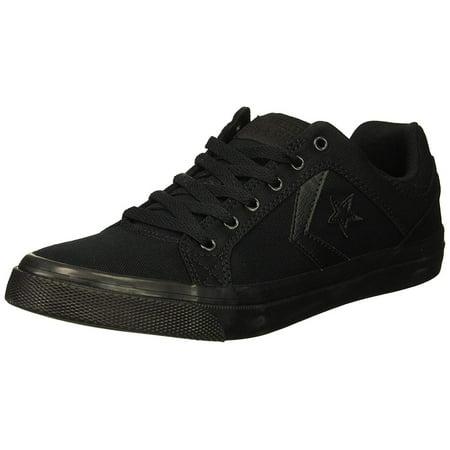 Converse Black Leather (Converse Men's El Distrito Twill Low Top)