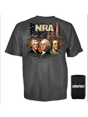6603f23c Product Image NRA T-Shirt National Rifle Association Sons Of Freedom T-Shirt  + Coolie (. Cyberteez