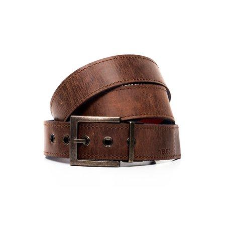 en venta c444a e2a96 VÉLEZ Genuine Leather Belt For Men | Correa Cinturones Cuero De Hombre