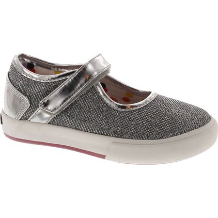 Morgan & Milo Kids Girl's Maddie Sport Sparkle Maryjane (Milo Kids Sparkle)
