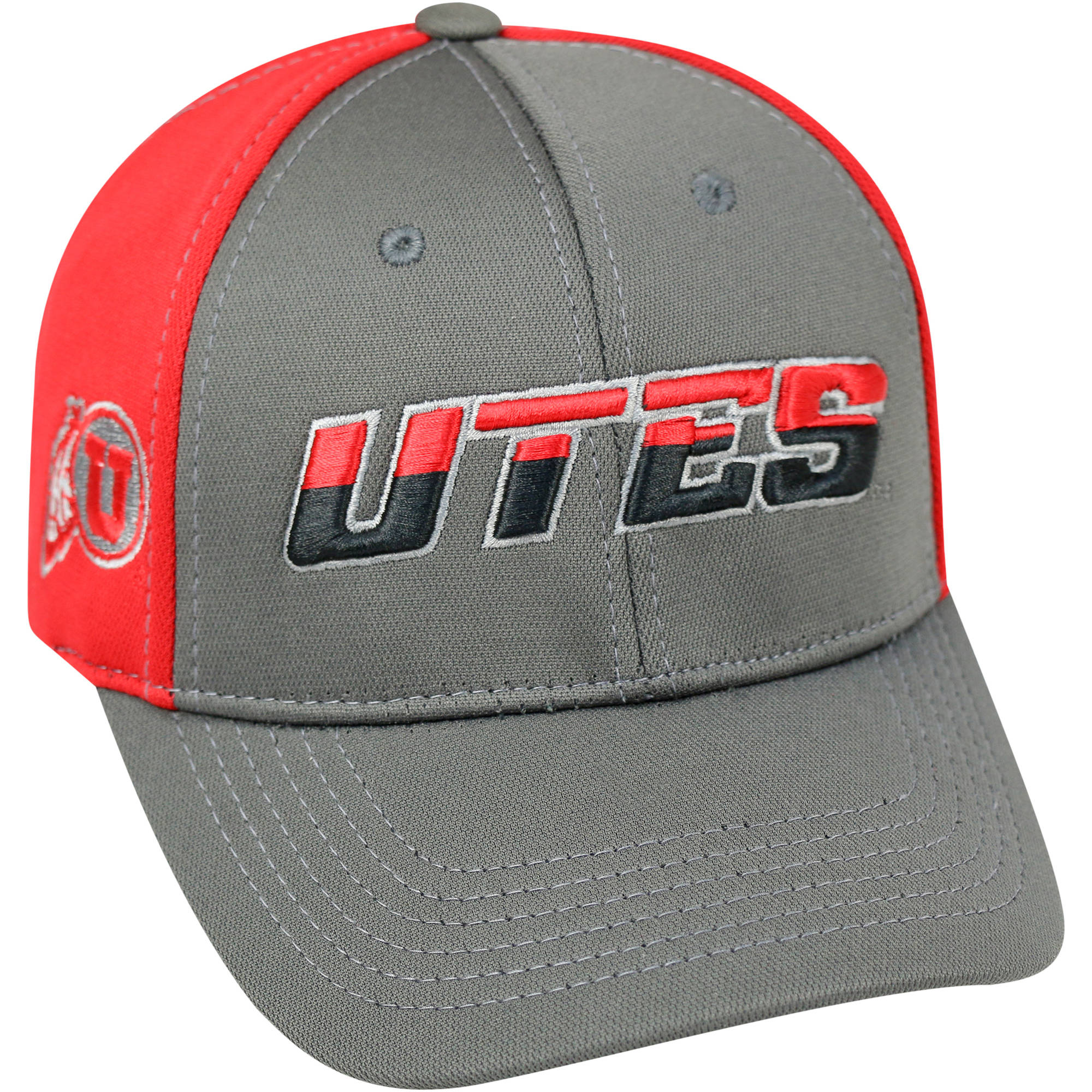 University Of Utah Utes Grey Two Tone Baseball Cap
