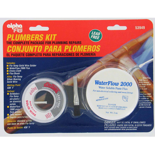 Fry Technologies Cookson Elect AM53949 Plumber's Solder Kit