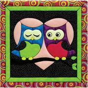 Love Owls Quilt Magic Kit