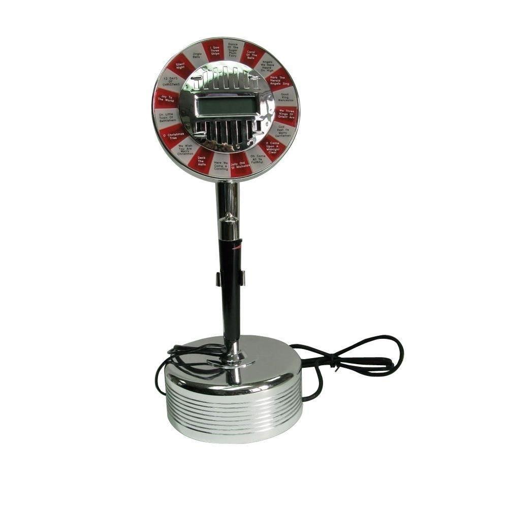 16 in. Christmas Karaoke Machine by