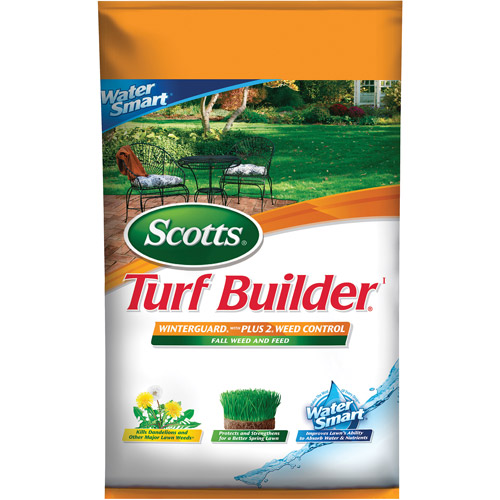 Scotts Turf Builder Winterguard with PLUS 2 Weed Control, 15,000 sq ft