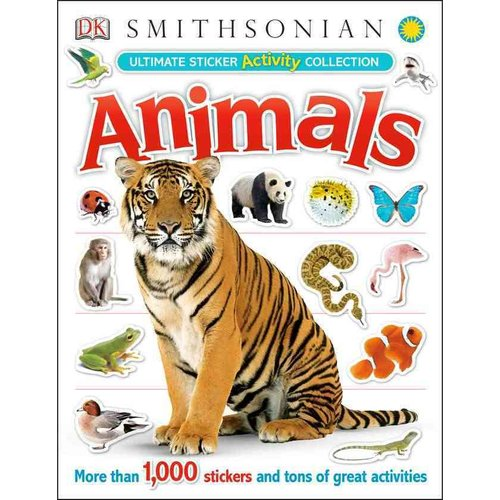 Animals Activity Sticker Book: Ultimate Sticker Activity Collection