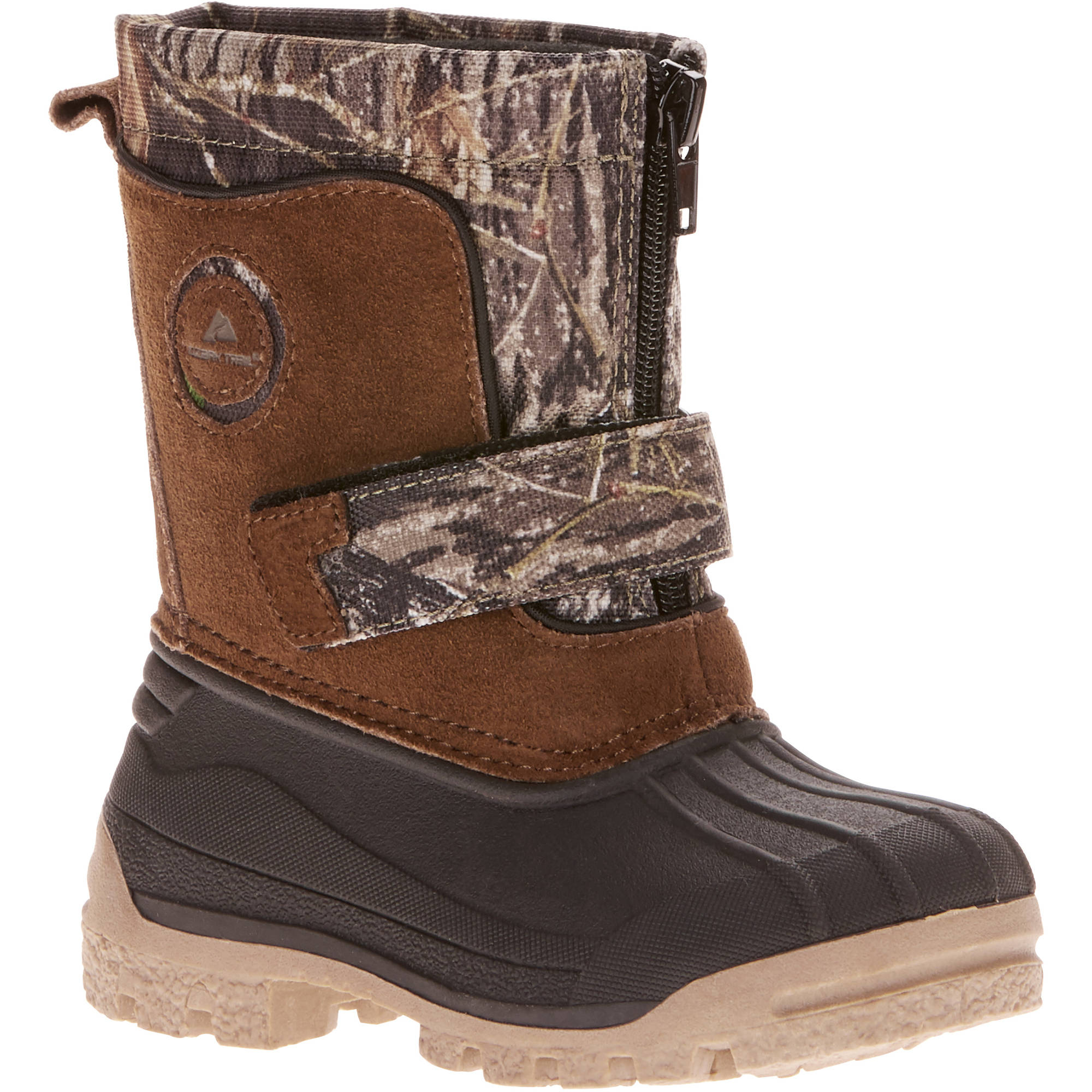Ozark Trial Toddler Boys' Pac Zip Winter Boot